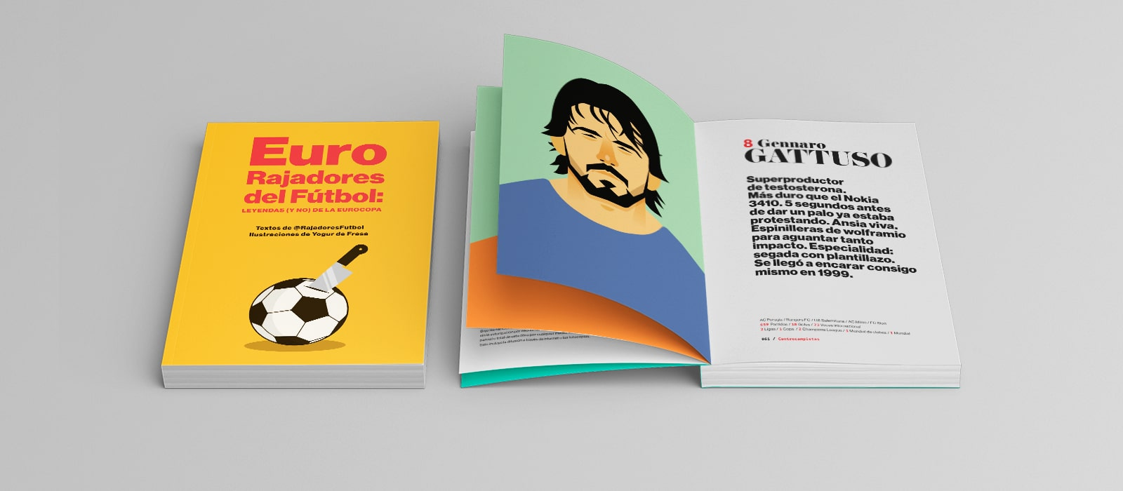 Eurorajadores del fútbol: leyendas (y no) de la Eurocopa